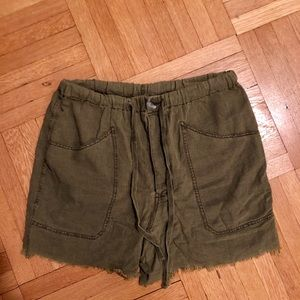 Free People Slouchy Shorts